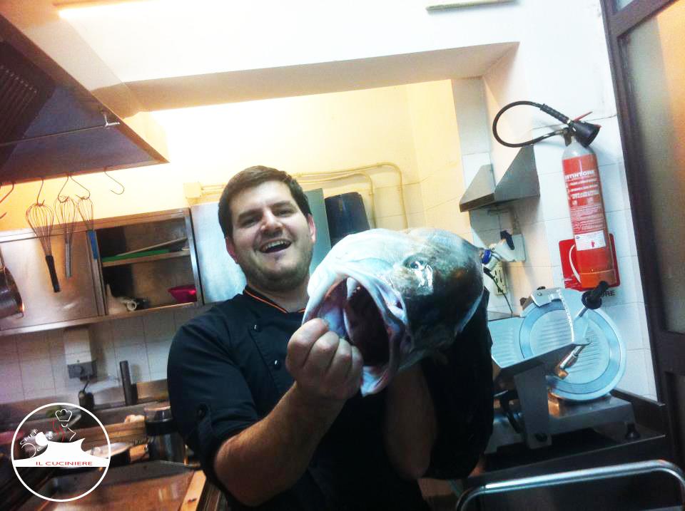 chef + fish